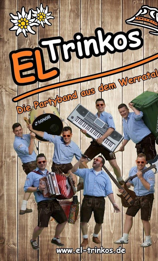 Tanz mit den El Trinkos, die Partyband aus dem Werratal